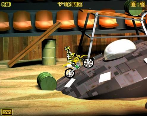 Jeux flash - Dirt Bike