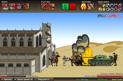 age of war 2 strategy