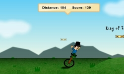 Jeux flash - Unicycle Madness