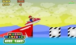 Jeux flash - Mario WaterSki