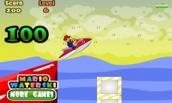 Jeux flash - Mario WaterSki