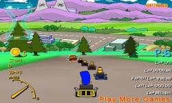 Jeux flash - Simpsons 3d Kart