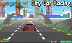 Jeux flash - City Car Racing