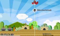 Flash games - Mario Plane Bomber