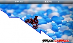 Flash spel - Max Dirt Bike