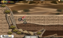 Flash spel - Sahara Biker