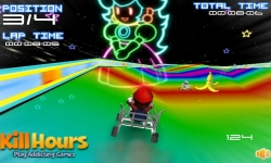 Jeux flash - Mario Cart 2