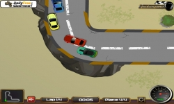 Flash spel - Mustang Power Racing