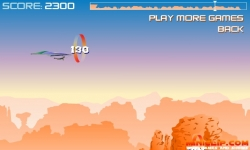 Flash games - Canyon Glider Game