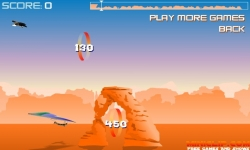 Flash spel - Canyon Glider Game