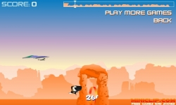 Jeux flash - Canyon Glider Game