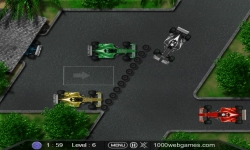 Flash games - F1 Parking