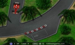 Jeux flash - F1 Parking