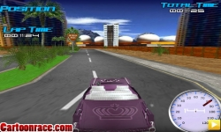 Jeux flash - Classic Car Race