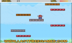 Jeux flash - Mario Rapidly Fall 2