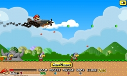 Jeux flash - Mario Airship Battle
