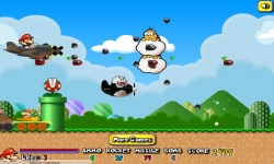 Giochi flash - Mario Airship Battle