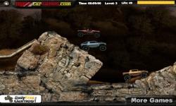Jeux flash - Trucks on Rocks