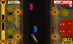 Flash spel - Prison Van Rush