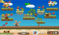Jeux flash - Super Mario Fruits