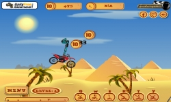 Jeux flash - Pyramid Moto Stunts