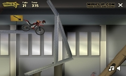 Jeux flash - Trials 2