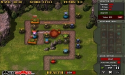 Jeux flash - Frontline Defense