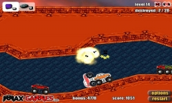 Flash spel - Monster Trucks Attack