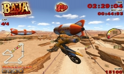 Jeux flash - Baja Motocross