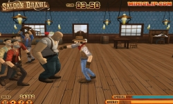 Jeux flash - Saloon Brawl