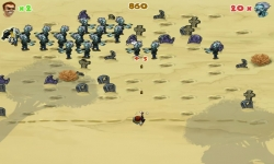 Flash játékok - Zombie Invaders