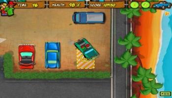 Jeux flash - Tom's Beach Parking Lot