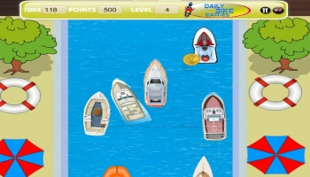 Jeux flash - Speed Boat Parking