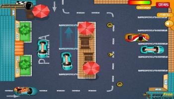Jeux flash - Pizza Delivery Parking
