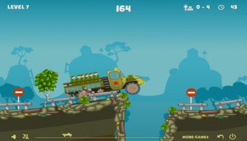 Jeux flash - Ragdoll Truck