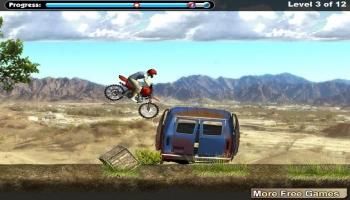 Jeux flash - Trial Bike Pro