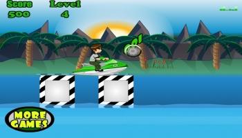 Jeux flash - Ben10 Jetski