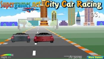 Jeux flash - City Car Racing