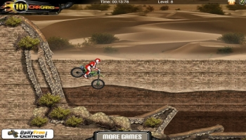 Jeux flash - Sahara Biker