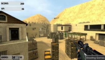 Jeux flash - Counter Strike De Hiekka