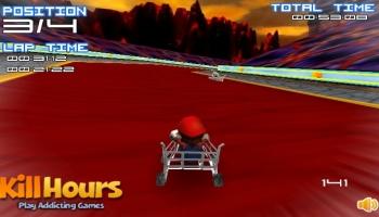 Jeux flash - Mario Cart 2