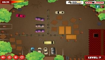 Jeux flash - Minivan Parking Madness