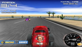Jeux flash - Hot Rods 3D