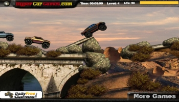 Jeux flash - Trucks on Rocks