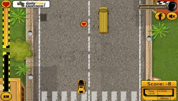 Jeux flash - Taxi Rush 2