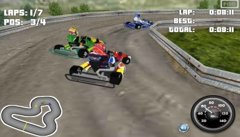 Jeux flash - Go Kart 3D