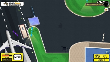 Jeux flash - Airport Bus Parking