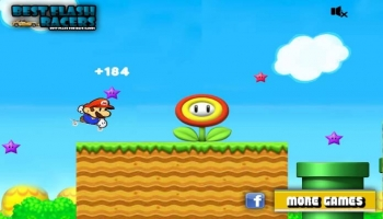 Jeux flash - Mario Skate Jumper