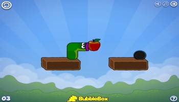 Jeux flash - Apple Worm