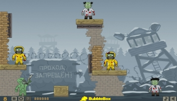Jeux flash - Ricochet Skills: Siberia